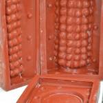 2of4 sides of Case for Bobble Lampbase -Grayshott Pottery