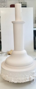 Candle stick model middle section