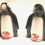 Chocolate dispensing Penguins - CP Ceramics