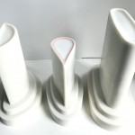 Printed Cases of Porcelain drop out vases